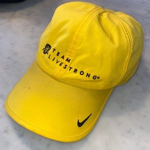 Nike dry fit Livestrong dad hat